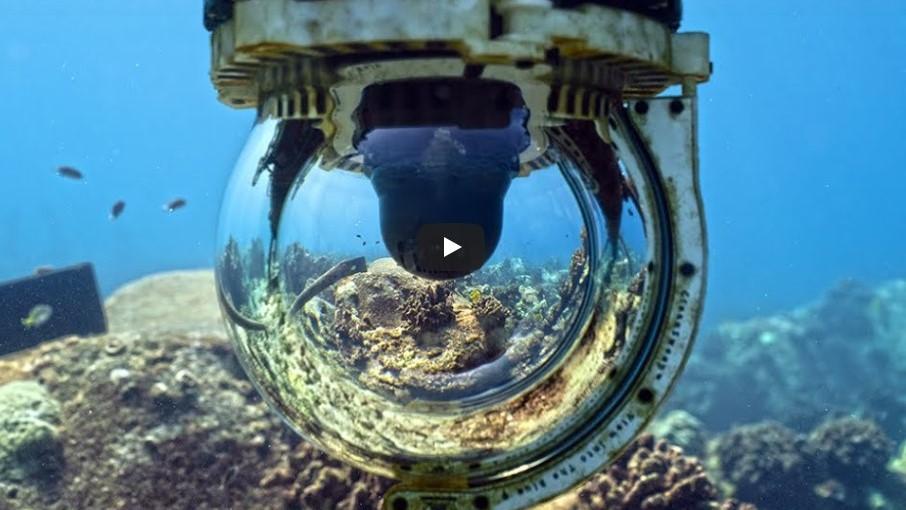 Screenshot of underwater camera.