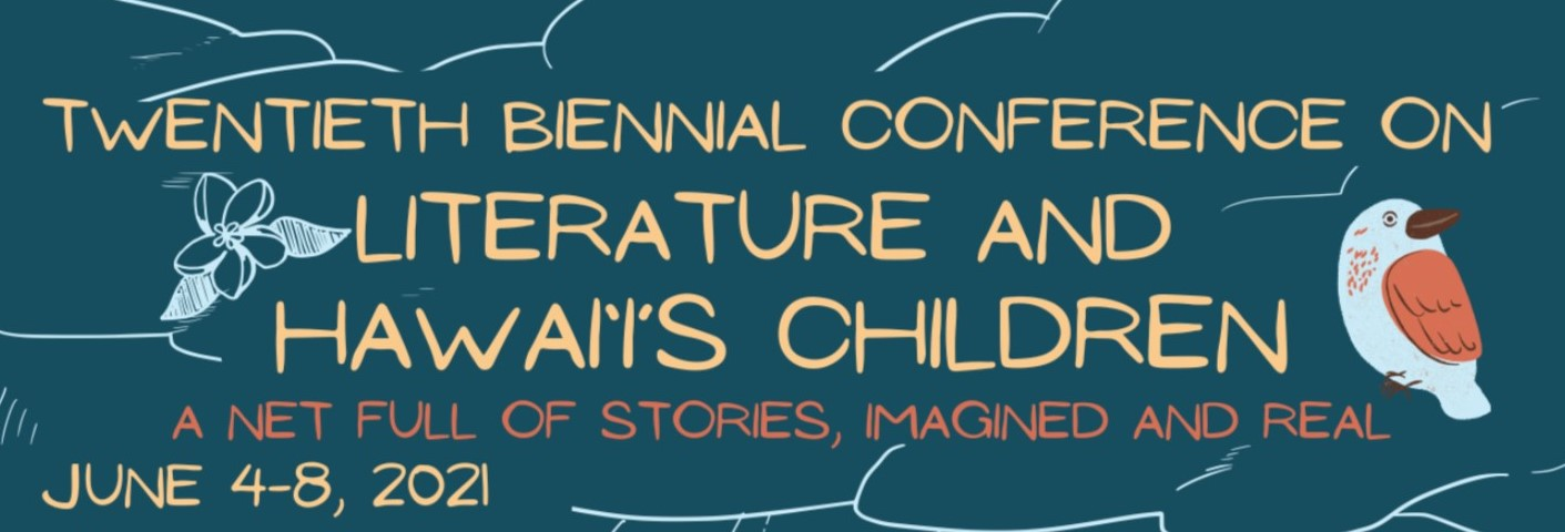Banner for Hawaii Children's Literature Conference