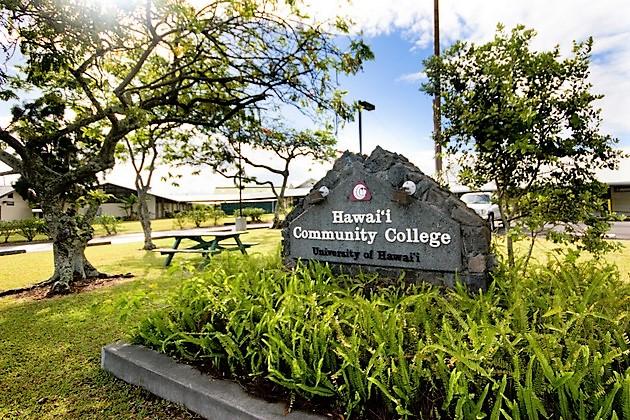 Hawaii CC signage