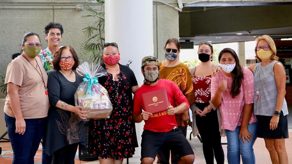 Group photo of Kipuka Staff.