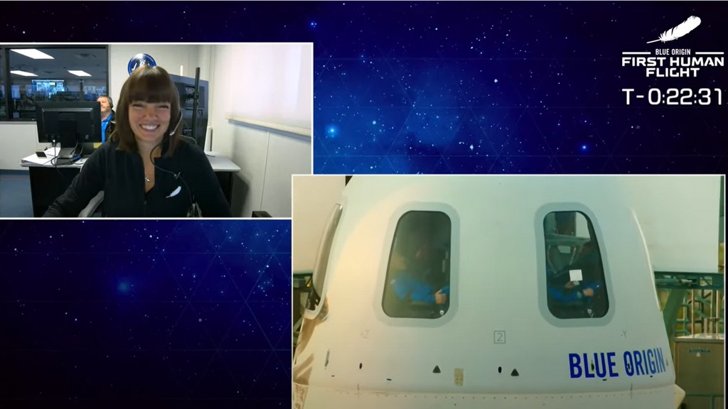 Sarah Knights in Mission Control
