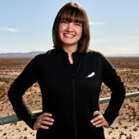 Sarah Knights profile photo in desert.