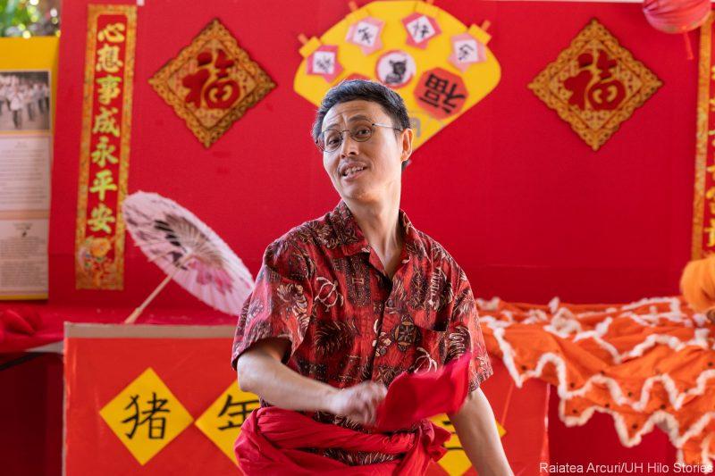 Jiren Feng dancing.
