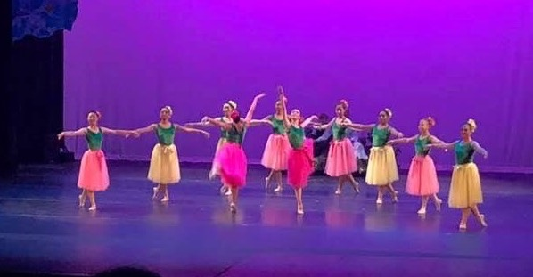 UH Hilo performing arts students show their ballet skills on the big stage.