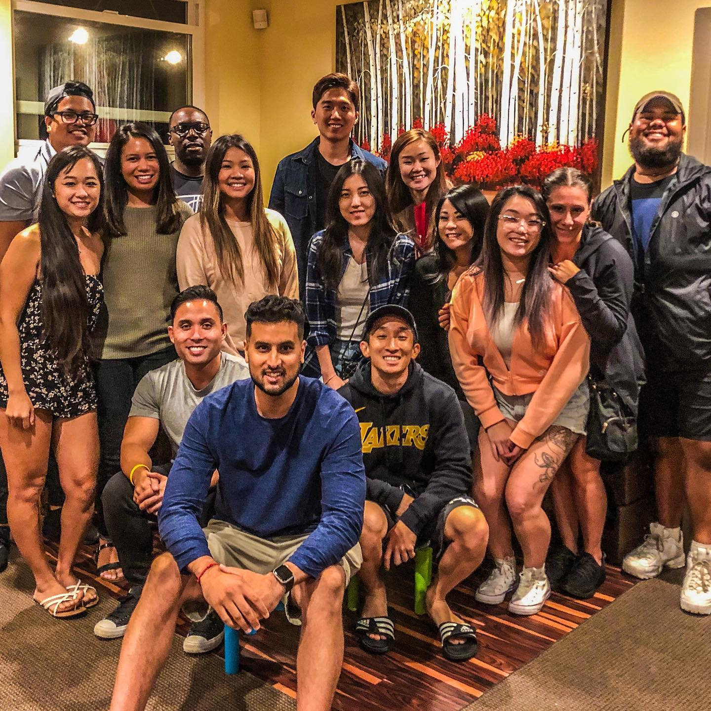 UH Hilo students enjoy their time together.