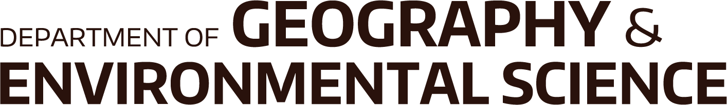 Department of Geography and Environmental Science