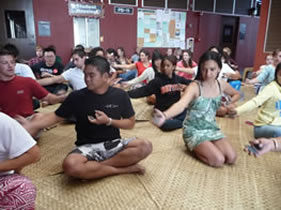 Hawaiian Language in Action class