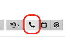 Location of Directory Lookup button