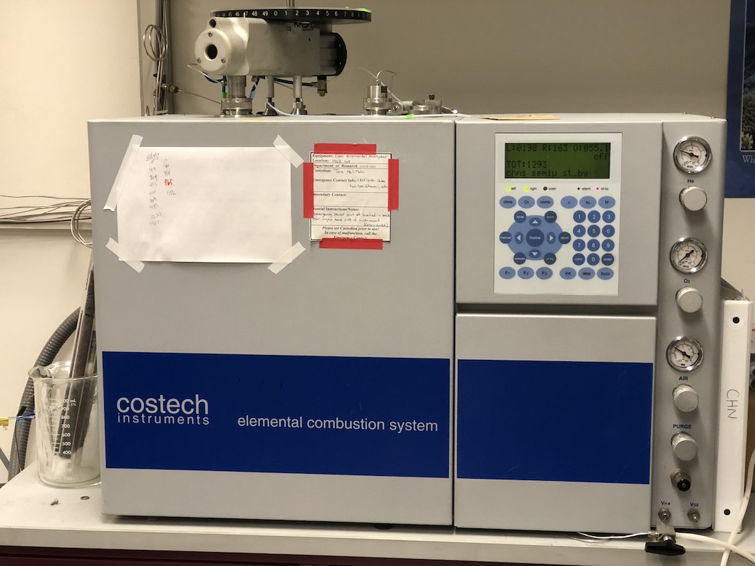 Costech Elemental Analyzer