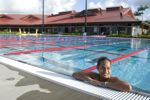The Student Life Center pool offers a chance to exercise and relax