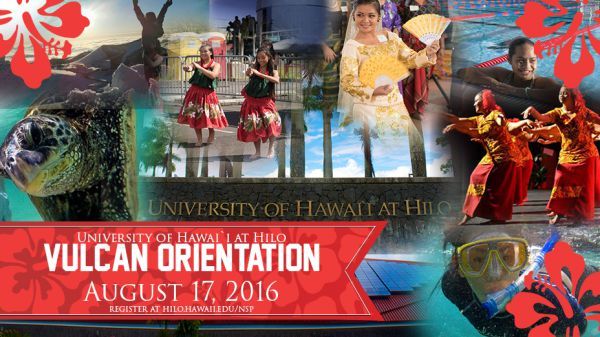 Sign up today for Fall 2016 Vulcan Orientation, happening August 17-August 20