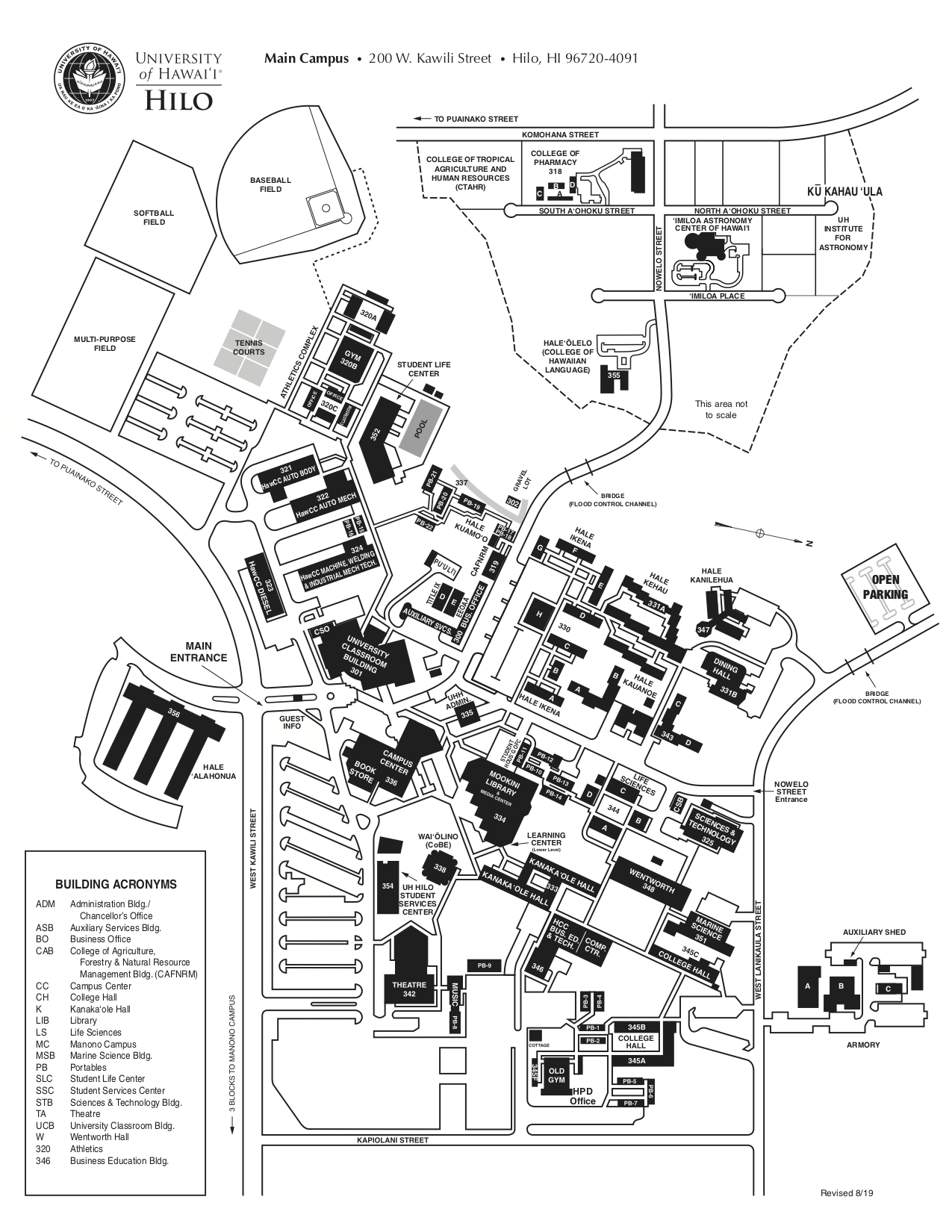 Campus Maps on