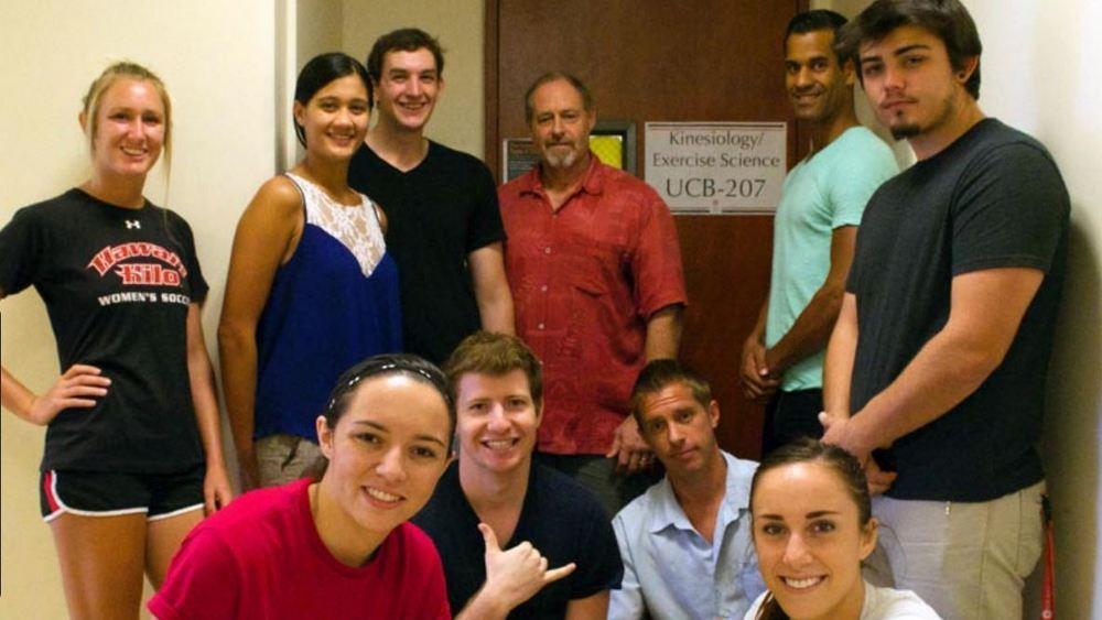 Linc Gotshalk and his lab crew.