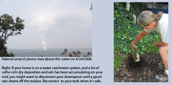 Water Catchment And Ash