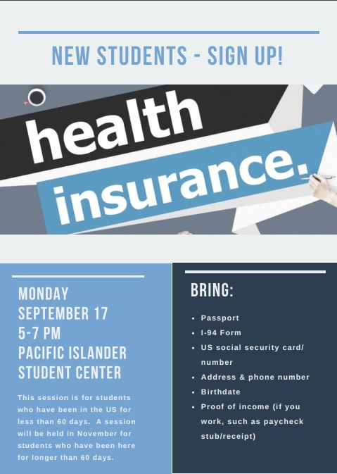 Apply for Health Insurance!