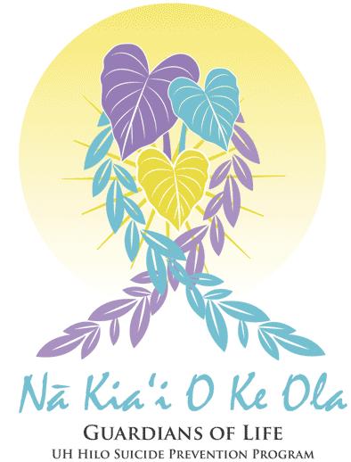 Na Kia'i O Ke Ola Guardians of Life UH Hilo Suicide Prevention Program Logo