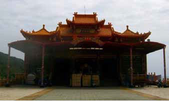 A traditional Chinese building