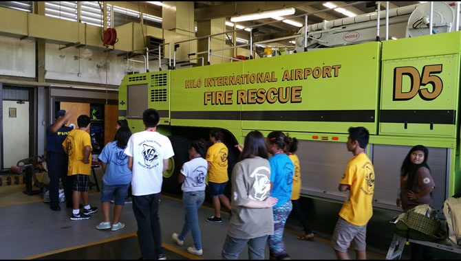 Exploring careers in fire rescue