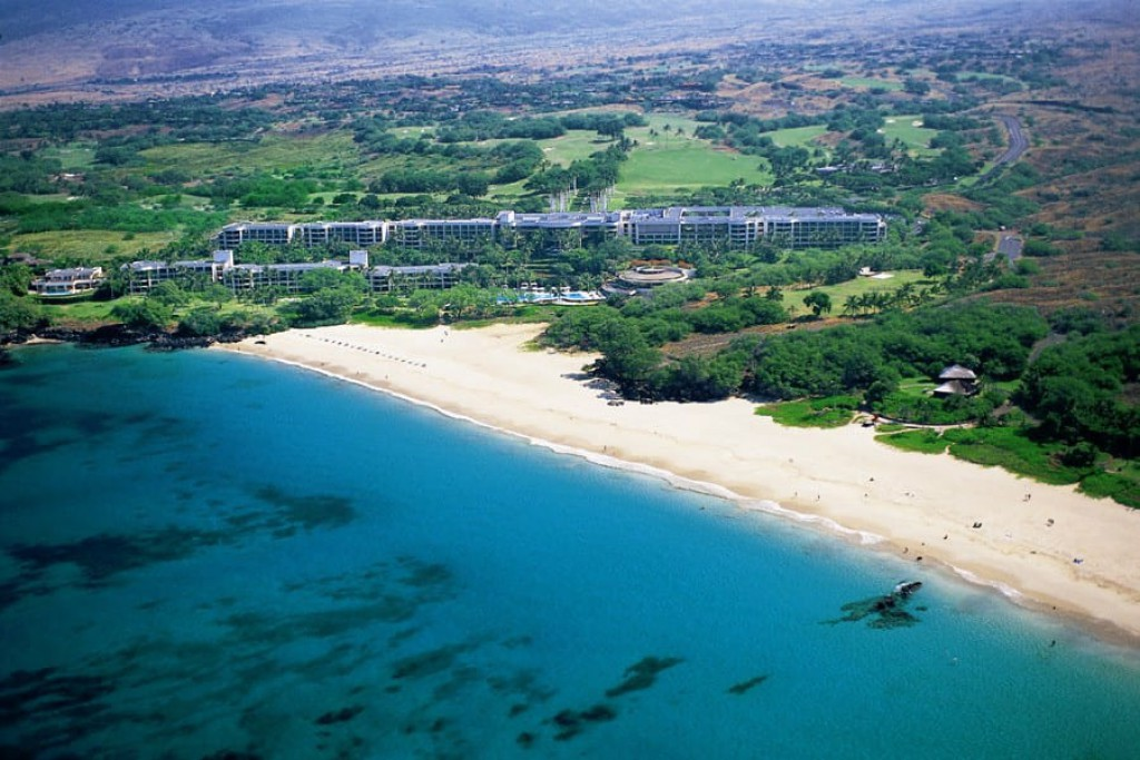 Hapuna Beach Hotel is a popular venue on the west side of the Big Island.