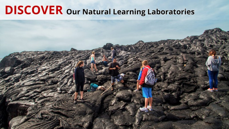 The University of Hawaiʻi at Hilo is ideally suited for studies in Volcanology.