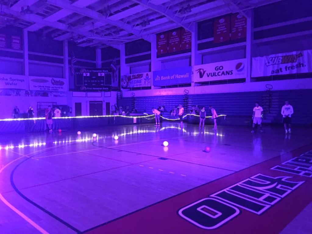 Intramural Sports Glow in the Dark Dodgeball Students are ready to have fun!
