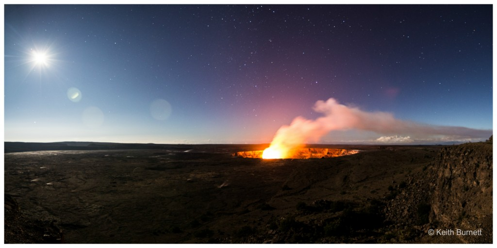 Halemaʻumaʻu crater. Photo:  Keith Burnett