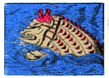 Medieval Sea Monster by John Paulus Semple