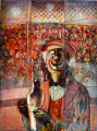 Clown Dissolution by Krishna Reddy