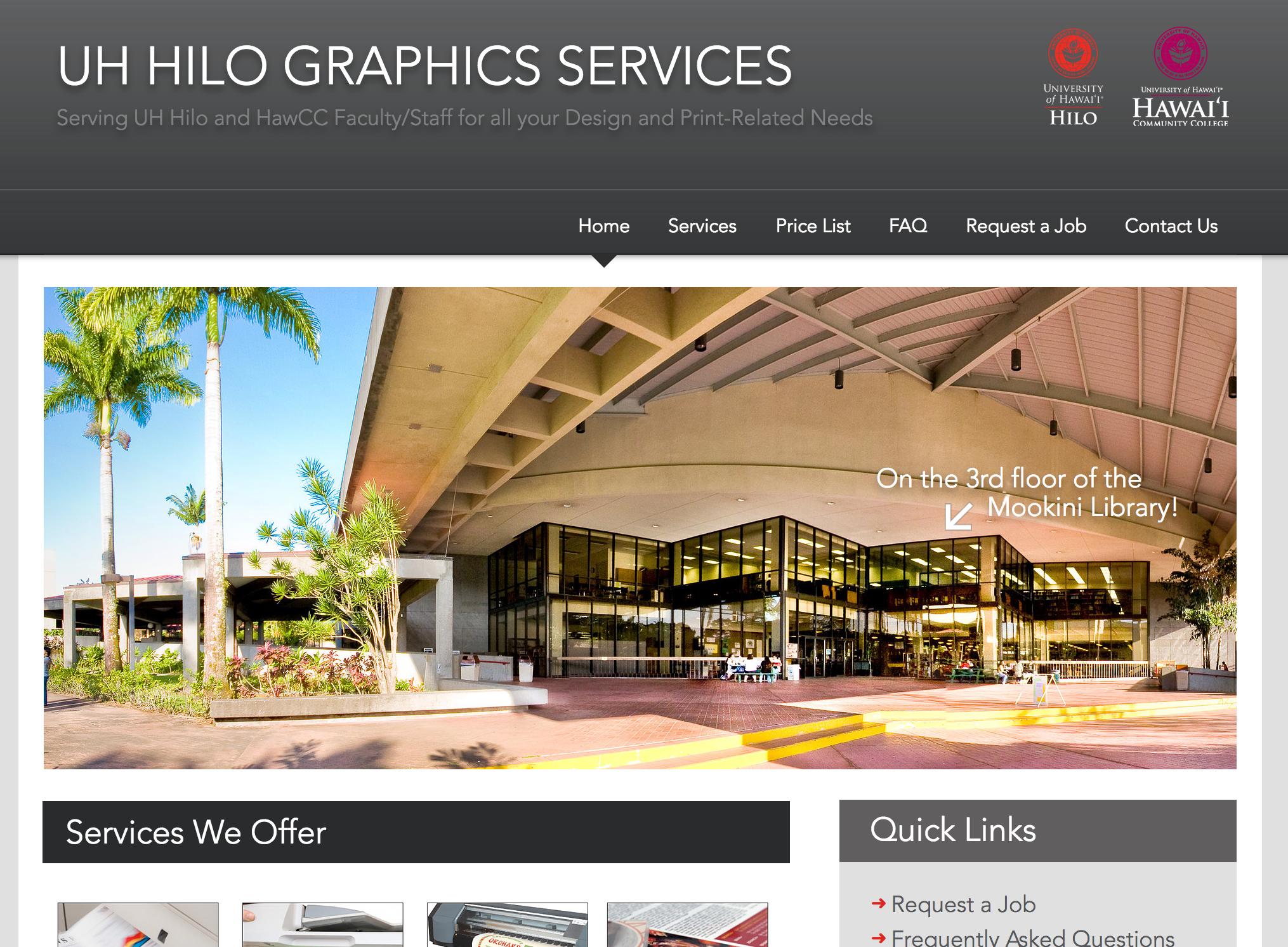 UH Hilo Graphics Services